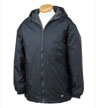 33237 - Fleece-Lined Hooded Nylon Jacket
