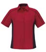 77042A - Ladies' Fuse Colorblock Twill Shirt