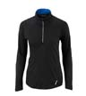 78187 - Ladies' Radar Half-Zip Performance Long Sleeve Top