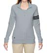 A191 - Ladies' Climalite 3-Stripes Full-Zip Jacket