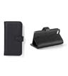 BLK-ICO-216 - iPhone 5 Leather Book Case