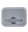 BLK-ICO-270 - Silicone Collapse-It Lunch Container
