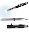 BLK-ICO-315 - Pen Light w/Stylus