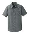 DM3810 - Men's Short Sleeve Washed Woven Shirt