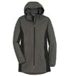 L719 - Ladies' Active Hooded Soft Shell Jacket