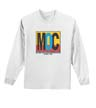 DTGB-W-PC61LS - 100% Cotton Long Sleeve T-Shirt