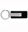 SMS-CG-1540 BL - Leather & Metal Key Tag
