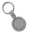 SMS-CG-3012 - Rounded Two-Toned Key Tag