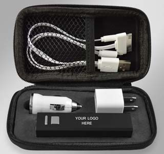 2600mAh Power Bank Gift Set