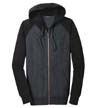 ST269 - Raglan Colorblock Full-Zip Hooded Fleece Jacket