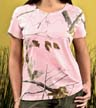 3685 - Ladies' Licensed Realtree Camouflage  T-Shirt