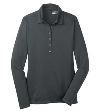 Ladies' Long Sleeve Dri-Fit Tech Polo
