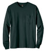 5596 - Long Sleeve Hanes T-Shirt with Pocket