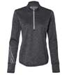 A285 - Ladies' Brushed Terry Heather 1/4-Zip