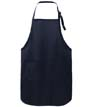 A703 - Full-Length Apron w/Stain Release
