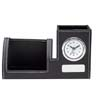 BLK-ICO-209 - Clock, Phone Holder & Pen Cup