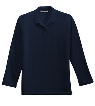 Ladies' Silk Touch L/S Sport Shirt