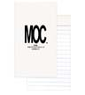 BLK-ICO-033 - Top Stapled Memo Books