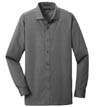 RH390 - Slim Fit Nailhead Non-Iron L/S Shirt