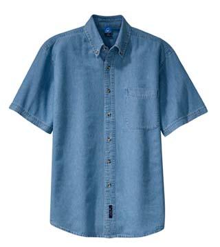 Value Denim Shirt - Short Sleeve