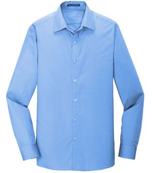 Slim Fit Carefree Poplin Shirt